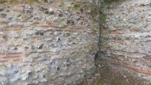 Castle wall Bastion join